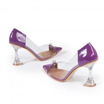 Haki Krokodil Burun Detaylı Bayan Ayakkabı 4046
