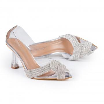 Kalın Topuklu Siyah Süet Bayan Ayakkabı 4005