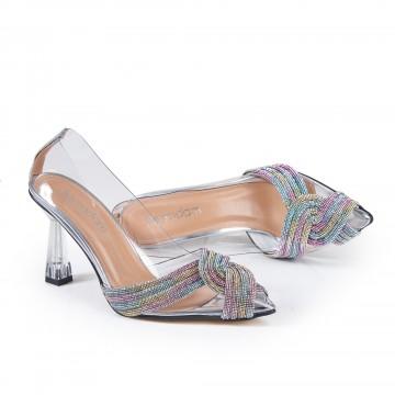 Kırmızı Çapraz Atkılı Sandalet 5059