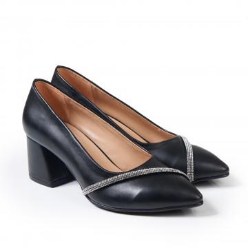 Bej Benekli Topuklu Bayan Sandalet 5050
