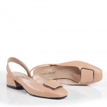 Siyah Bilekten Bağlı Çapraz Atkılı Sandalet 5052